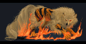 Arcanine by Monstoner