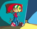 Commander Keen Comic Preview by Galaxieretter