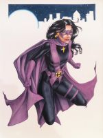 Huntress Heroes Con Commission 2013 by Dangerous-Beauty778
