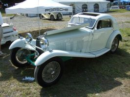 1938 HRG Airline Coupe by Aya-Wavedancer