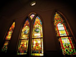 Stained Glass Windows by alimuse