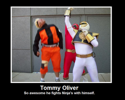 Tommy Oliver by TuxedoK