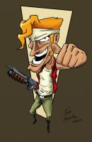 Marco Rossi from Metal Slug by LucaSpeed