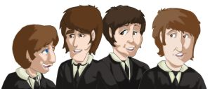 Beatles- disney style by Super-Mario-Whirled