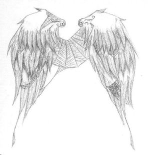 Tribal Tattoo Designs With Specially Wings Tattoo Art Picture 4