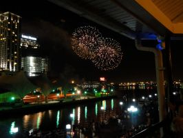 Fireworks in the Air by xI3rokenI3eautyx