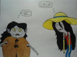 Marceline Meets Marceline by ProsperingMinds