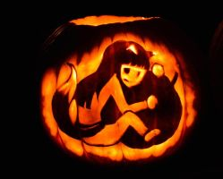 The Holoween Pumpkin by Ronigirl