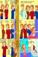 A Typical Weasley Morning by DKCissner