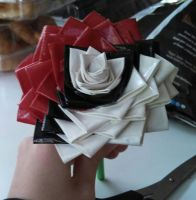 Duct Tape Pokeball Rose! by LKYPG13