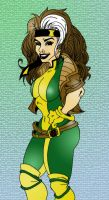 Rogue colored by Javdaneh