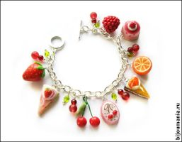 Children's bracelet with fruit by allim-lip