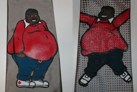 Fat Albert Ties by iceicefangurl