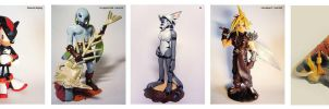 Sculpture Collection by Dayu