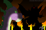Spike's Mysterious Opponent by Crisostomo-Ibarra