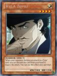 Will Antonio Zeppeli (as a Yu-Gi-Oh! card) by playmaster96