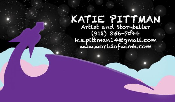 Katie Pittman Business Card by WorldofWimh