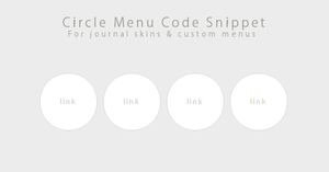 Code Snippet- Circle Menu by Gasara