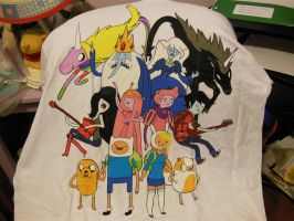 Adventure Time T-Shirt 3 by soniclover2468