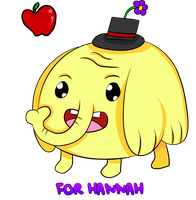 Tree Trunks with a Cute Hat - For Hannah by quarrus