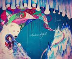 MURAL PAINTING - THE NORTH by AndreeaIuliana
