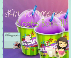 skin rainmeter 1D by tutorialslucy