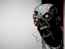 Zombie! 3-D conversion by MVRamsey