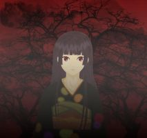 Hell Girl Colour by tifa-bells