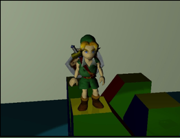 Link - 3d Movie - WIP 0.5 by VeggieB0i