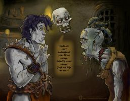 Planescape: Torment  -  Corpse Party by ArainMorn