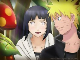 NaruHina: Mount Myoboku date by 3ternal-Star