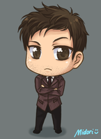 The Tenth Doctor Chibi (Commission) by mmidori31