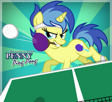 Penny PingPong #2 by RavenEvert
