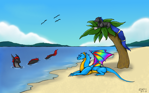 .:Summer Break:. by Dragon-of-Faith