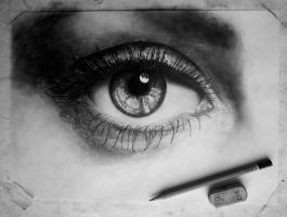 In progress.. Eye (Drawing) [6] by DesignerMF