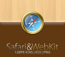 Safari and WebKit Icon by eveofthorn