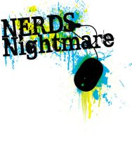 Nerds Nightmare logo by pindlekill