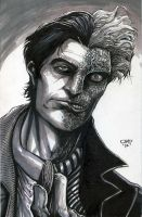 Harvey Dent by olybear