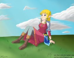 Zelda by Very-Lazy-Artist