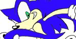 A poorly made dA Muro Sonic by SmalltheCat