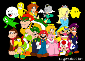 The World of Super Mario! by LuigiYoshi2210