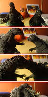Happy Valentine's Day from Godzilla by KingAsylus91