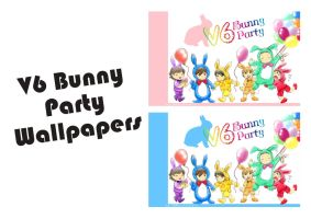 V6 Bunny Party Wallpapers by didihime