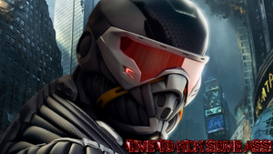Crysis 2 Wallpaper by SasukeXatBGMaker