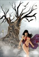 Vampirella 26 Cover Colors by FabianoNeves