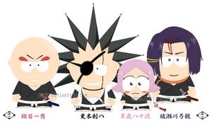 Div. 11 - Bleach - South Park by Dosu