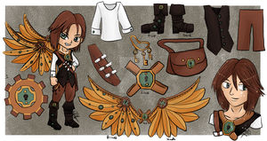 Hatchable Adopt from Steampunk OTA- VixenKiba by keokotheshadowfang