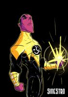 Sinestro by kross29