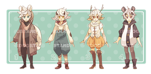 kemonomimi adoptables auction [CLOSED] by stardop