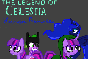 Legend of Celestia: Lunar Princess by MissLuckychan29